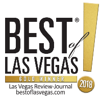sello de oro de best of las vegas